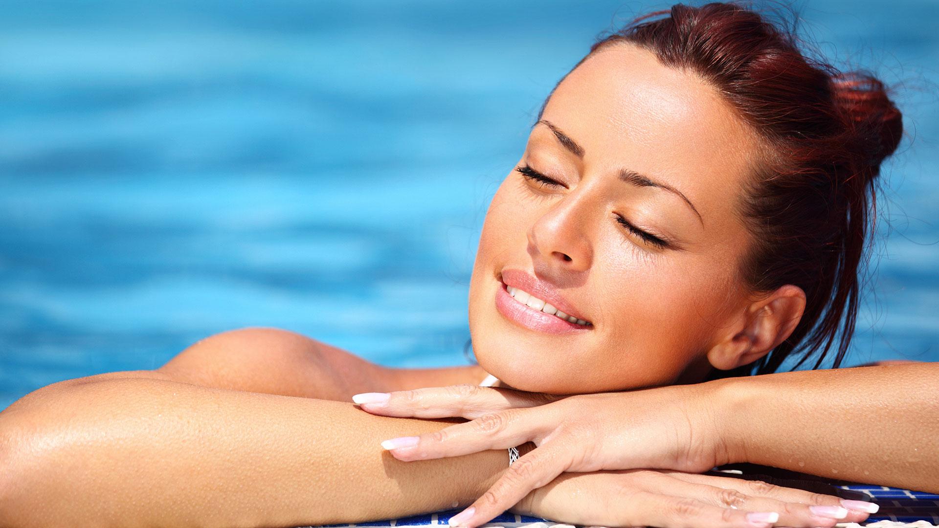 Как ухаживать за кожей лица на море